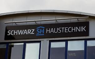 Schwarz Haustechnik index gehrken werbetechnik de